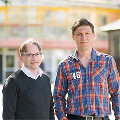 Heiko Tierling, Geschäftsführer & Mario Salzmann, Geschäftsleiter ZIPP Pflegekonzepte